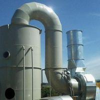 Lavador de gases para caldeira