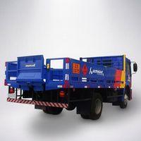 Plataforma elevatória cargas veiculares para cilindros de gases Marksell