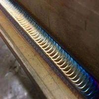 Soldagem de estruturas metálicas